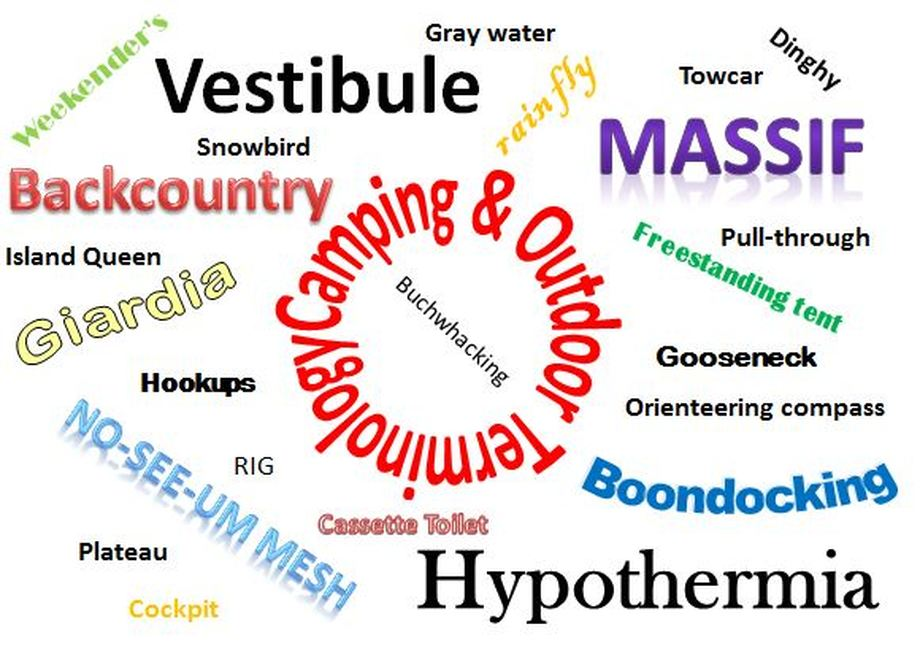 terminology word cloud